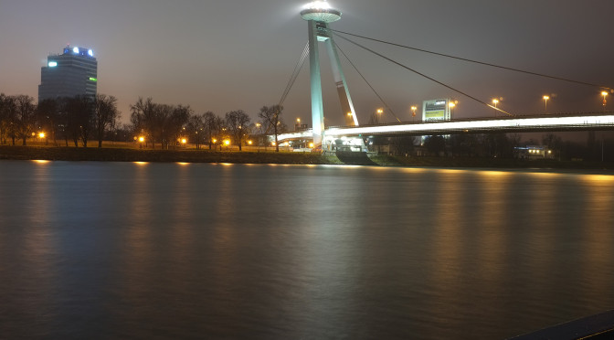 Noc a ráno na Dunaji